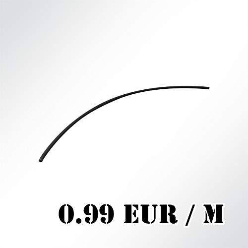 LYSEL® Kedereinlage PVC-Hohleinlage hart Ø 6mm schwarz