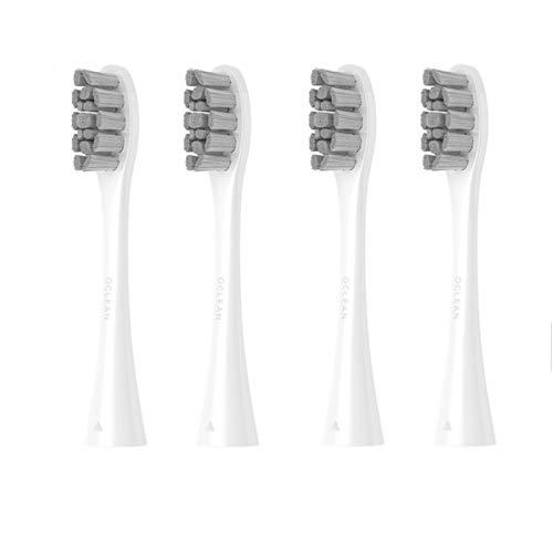 Ersatzbürstenkopf für Oclean X/X Pro/SE/Air/One elektrische Schallzahnbürste, Oclean Bürstenköpfe, 4 Stück