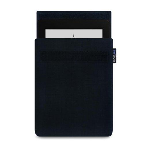 Adore June 6 Zoll Tasche Classic für Kindle Paperwhite, Hülle aus widerstandsfähigem Material für Kindle Paperwhite (2012-10. Generation 2018), Schwarz