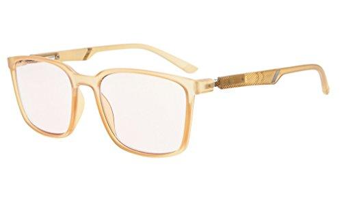 Eyekepper Blue Light Blocking Reading Glasses Amber Tinted Computer Glasses...