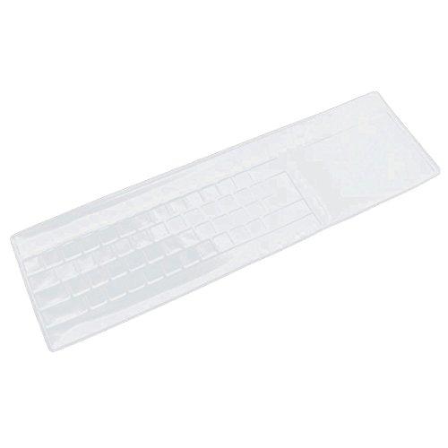 sourcingmap® - coperto trasparente per tastiera di silicone pelle protezione universale per PC computer