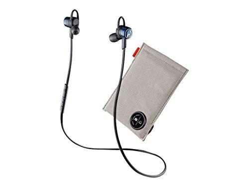 Plantronics Moisture-Resistant Earphones - Wireless - Bluetooth with Charging Case Cobalt Black (204352-01)