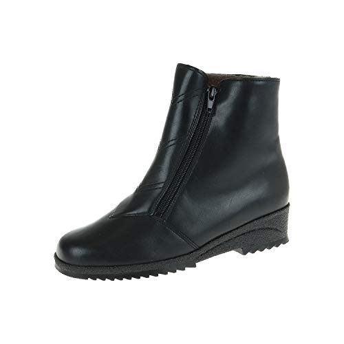 Jenny by Ara damesschoenen enkellaarzen gevoerd zwart 6815101