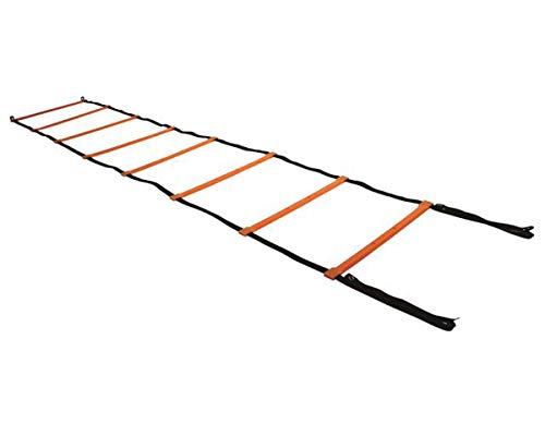 Escada de Agilidade com 8 Degraus 50 cm Amarelo - ACTE T58