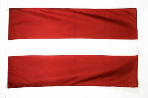 AZ FLAG Flagge LETTLAND 150x90cm - LETTISCHE Fahne 90 x 150 cm - flaggen Top Qualität