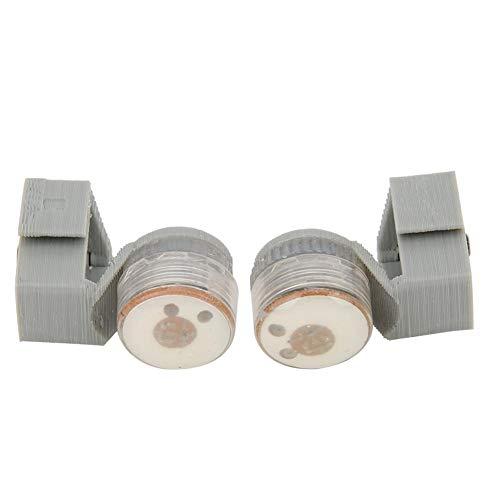 Keenso Lampada di Segnalazione a LED, 2 Pezzi Spia per Mavic Mini RC Drone, Accessorio per RC Drone(Grigio)