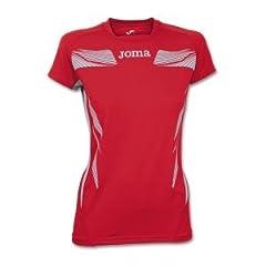 Joma elite iii woman, camiseta manga corta