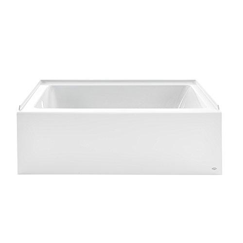 American Standard 2973102.011 Studio Integral Apron Bathtub Right Drain 60 in. x 30 in. in Arctic White