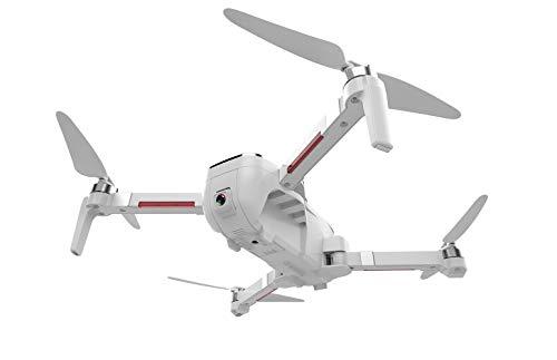 KAIFH Drone Macchina Fotografica 4K HD Pieghevole Drone GPS Anti-Vento Automatico Flusso D'aria Di Ritorno Controllo Remoto Aereo A Quattro Assi in Modalità Senza Testa Gesto Foto Automatica Seguire,1