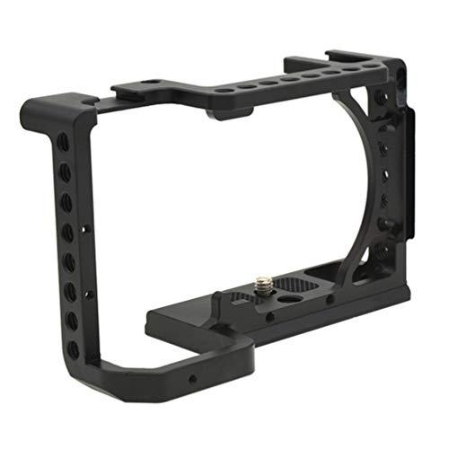 Lurrose Suporte para Gaiola de Vádeo Em Liga de Alumánio Estabilizador de Gaiola de Câmera Compatável Com Sony A6600