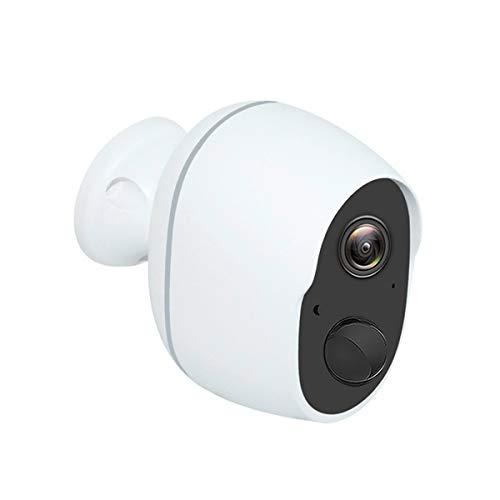 Binchil Cámara wifi 1080p, batería recargable, inalámbrica, de seguridad, IP, PIR, detección de movimiento, impermeable, cámara de vigilancia