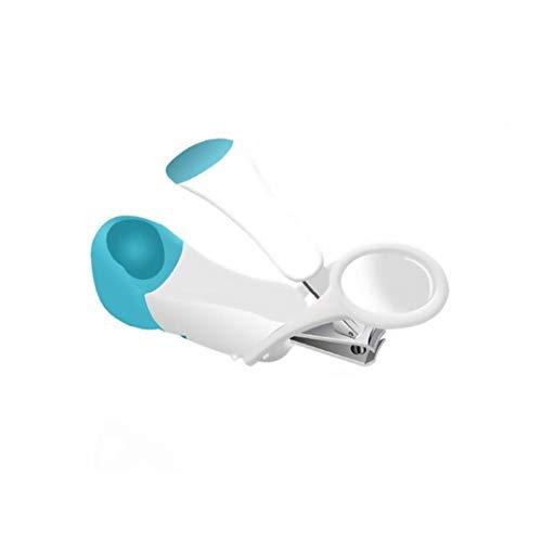 IUwnHceE Baby-nagelknipser Deluxe Nagelknipser Mit Lupe Kreative Uniquesafety Nagelknipser Für Kleinkinder Blau