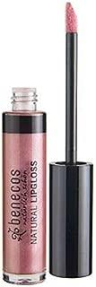 Benecos, Natural Lip Gloss (Rose) -  Light Pink Lip Gloss for Natural Look Makeup, Organic & Long Lasting