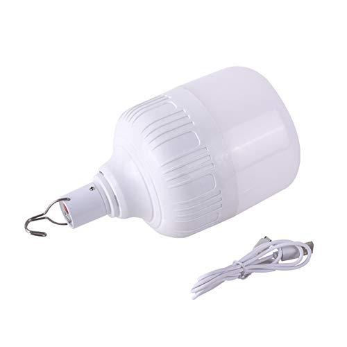 Blinkende Blasen,Usb Mit Ladekabel 5V-Glühlampe Im Freien, Campingbeleuchtung Mit Haken Energiesparlampen, 30W