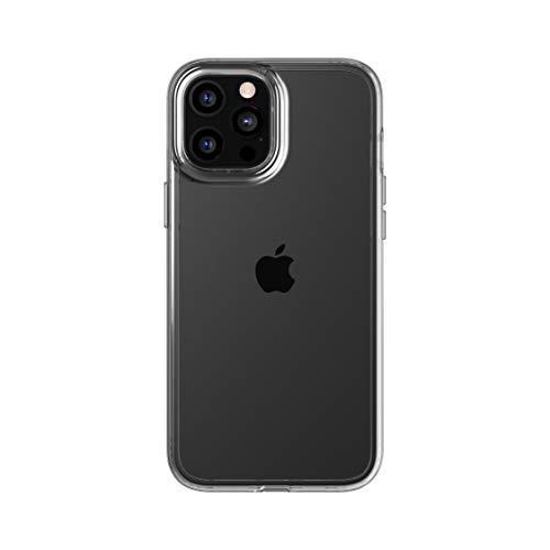 tech21 EVO Clear - Carcasa para Apple iPhone 12 Pro MAX 5G (antigérmenes, protección contra caídas de 3 Metros)