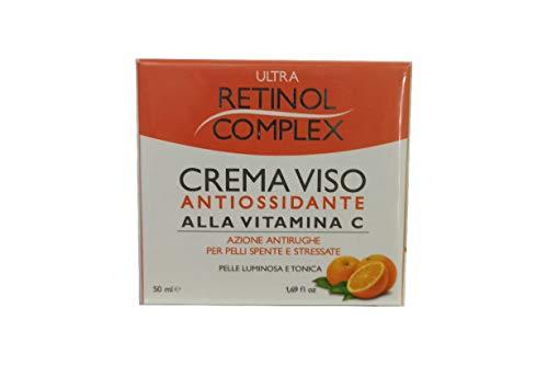 Crema Facial Antioxidante Con Vitamina C Antiarrugas