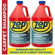 Zep Premium Carpet Shampoo 128 ounce ZUPXC128 (Pack of 2) Pro Strength Formula