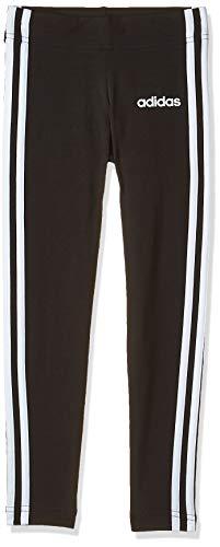 adidas Mädchen Essentials 3-Streifen Tights, Black/White, 152