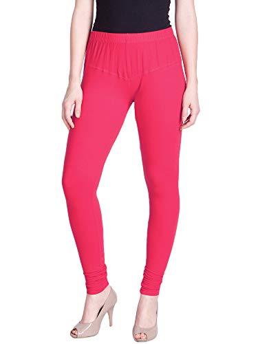 Lux Lyra Women's Cotton Leggings (LYRA_Silk_66_Blossom_Free Size)