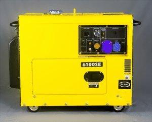 VORVERKAUF!! KOMPAK Silent Diesel 5500W DK6100SE Stromaggregat Stromerzeuger Leise Profi