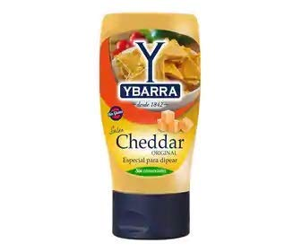 Ybarra Salsa Cheddar Original , 1 x 300 ml