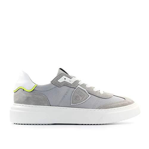 Philippe Model Sneaker Temple Mixage Grigio Uomo SS 2020