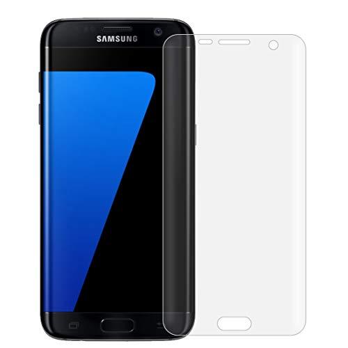 GGAOXINGGAO Protectores de Pantalla de teléfono móvil Ultrafina película de Pantalla Frontal y Posterior de TPU for Samsung Galaxy S7 Edge / G935
