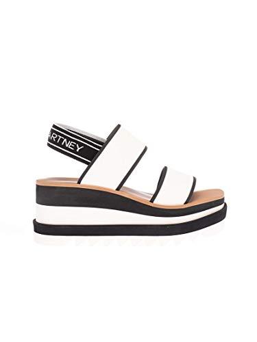 Moda De Lujo | Stella Mccartney Mujer 800016N0010K935 Blanco Tela Sandalias | Temporada Permanente