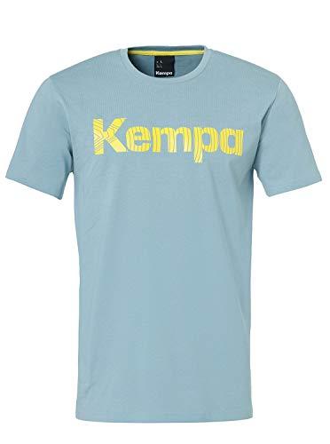 Kempa Kinder Graphic T-Shirt, Dove blau, 140