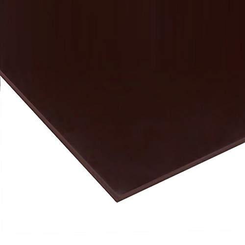 日本製 アクリル板 チョコレート(キャスト板) 厚み3mm 900X900mm 縮小カット1枚無料 糸面取り仕上(手を切る事はありません)(業務用・キャンセル返品不可) レーザーカット可