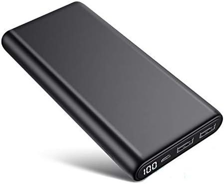 Portable Charger 26800mAh LCD Digital Display Power Bank Huge Capacity External Battery Pack product image