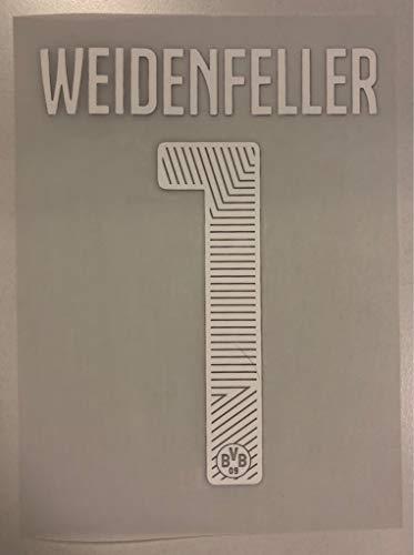 Flock Original BVB Borussia Dortmund Trikot 17cm - WEIDENFELLER 1