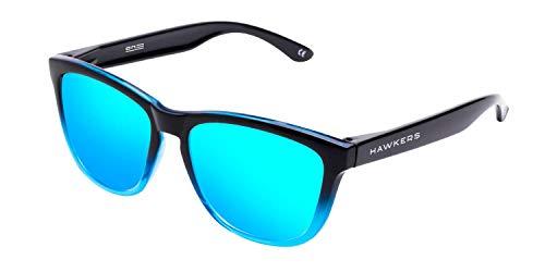 Hawkers Unisex-Erwachsene Polarized Fusion · Clear Blue One Sonnenbrille, Blau (Azul), 50.0