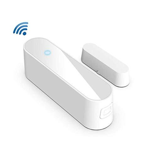 Los Sensores Inteligentes De Puertas Y Ventanas Son Compatibles Con Amazon Alexa, Google Assistant Y IF TTT. Alarma Inalámbrica Remota De La Seguridad Del Sensor Magnético De La Seguridad, Sensor De