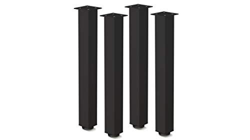 Gambe Tavolo Regolabili Set Gambe Tavolo Kit Di 4 Piedi Gambe Per Tavolo Altezza Regolabile 1100 mm Accessori di Montaggio Inclusi