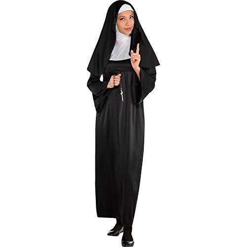 Amscan 840235 Adult Holy Sister Nun Costume Set - Plus Size