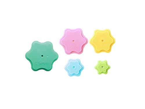 Sew Mate - Schablonen für Nahtzugabe als Set 3,5,7,10 und 15mm