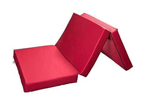 SHOGAZI Colchón plegable 140 x 200 x 12 cm, para adultos y...