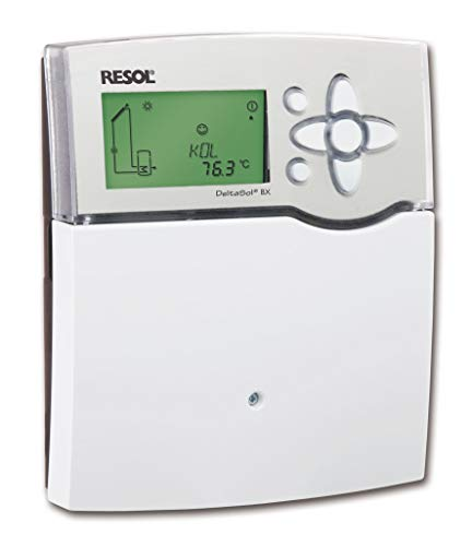 Solarsteuerung Resol DeltaSol BX (inkl. 5 Fühlern - 2 x FKP6-3 x FRP6) - Komplettpaket