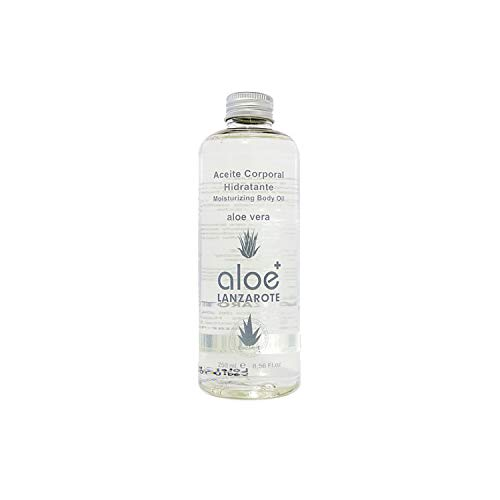 Huile corporelle à l'aloe vera avec vitamine E, aloe vera et lanzarote - 250 ml