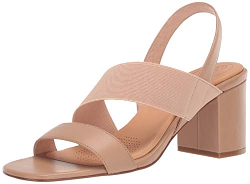 CC Corso Como Women's HALLY2 Heeled Sandal, Latte, 8.5 M US