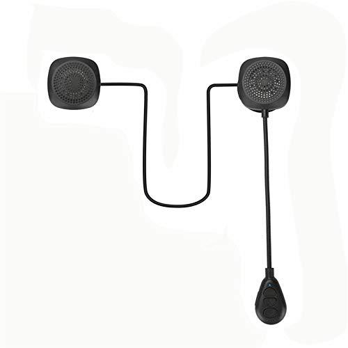 XBJSY Casco De Motocicleta Bluetooth 5.0 Auriculares Anti-Interferencia Moto Casco Riding Intercom Wireless Hands Handphone MP3 Altavoz GLZERJ (Color : MH05)