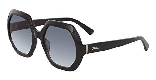 Longchamp LO623S Acetate - Gafas de Sol Ebony, Unisex, Adulto, Multicolor, estándar