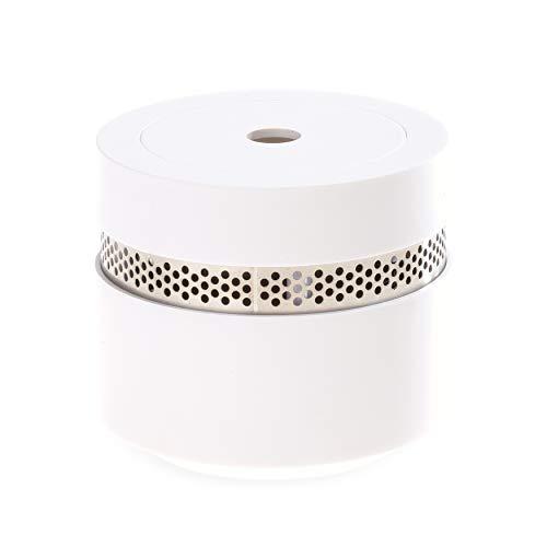 Mini Rauchmelder Design – Schützt 10 Jahre sicher vor dem Ernstfall – Feuermelder schön, dezent und extra-klein – Rauchmelder 10 Jahre Batterie entspricht DIN EN 14604