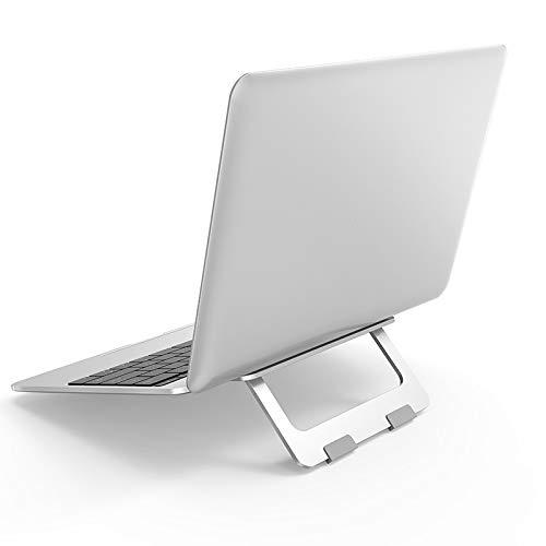 MARTINUS YANG Supporto PC Portatile, Rialzo PC Portatile, Supporto iPad, Supporto Laptop Stand, Raffreddamento Regolabile in Lega di Alluminio, Compatibile con Notebook iPad Libri