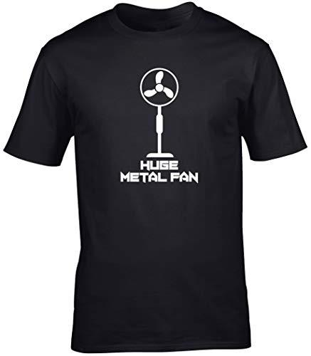 Hippowarehouse I'm a Huge Metal Fan Unisex Short Sleeve t-Shirt (Specific...