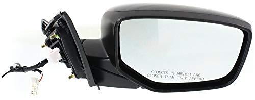 Mirror Compatible with 2013-2016 Honda Accord Power Manual Folding Sedan Paintable Passenger Side