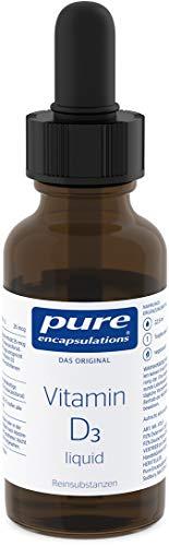 Pure Encapsulations - Vitamin D3 Liquid - für die ganzjährige Versorgung - 22.5ml