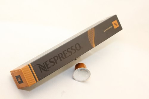 Nespresso Kapseln Original Espresso caramelito - Variationen - 10 Kapseln