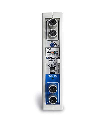 Amplificador Monocanal UHF Adyacente 50dB Alcad